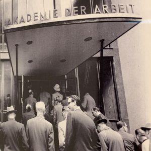 ada eingang eröffnung 1957 (c) ISG – Institut für Stadtgeschichte