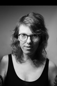 Schwarz-Weiß-Portait von Helen Heß